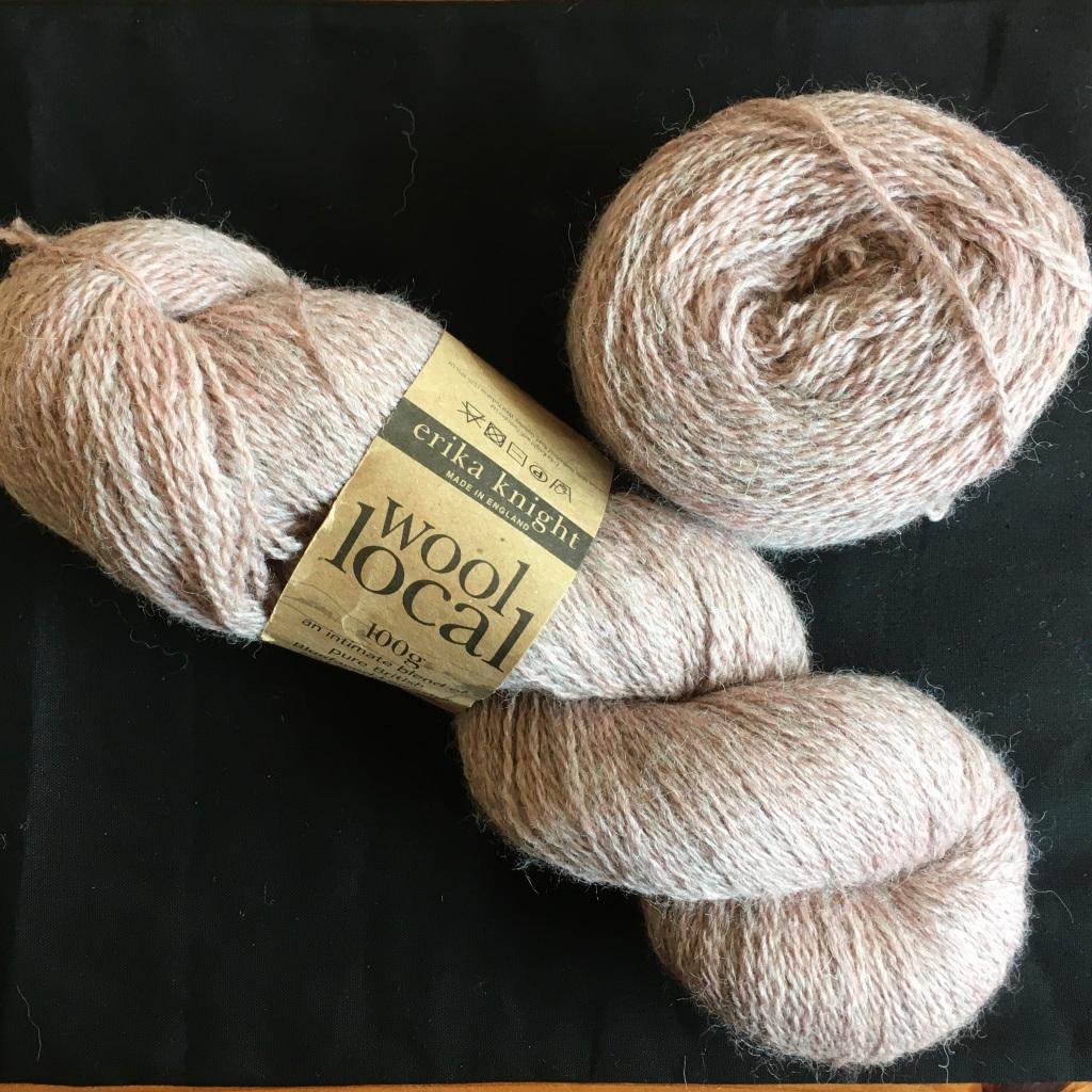 1.5 skeins of Wool Local in Rosedale